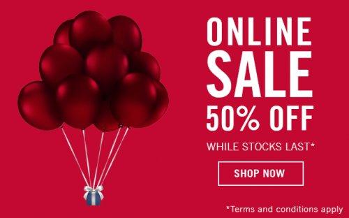 Swarovski Sale 50% off while stocks last