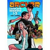 Archer Season 1-3 DVD £10 Tesco Direct