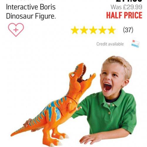 Dinosaur Train Interactive Boris £14.99 @ Argos
