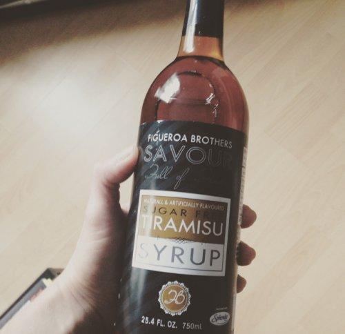 Tiramisu syrup sugar free! £4.99 @ TKMaxx