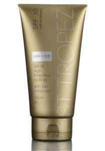 St. Tropez SPF 30 Sun Protection For Body With Tan Enhancer £3.50 150ml @ B&M