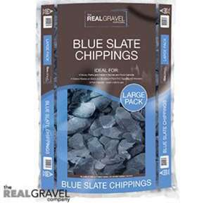 Blue garden slate chippings £2.75 @ Home Bargains