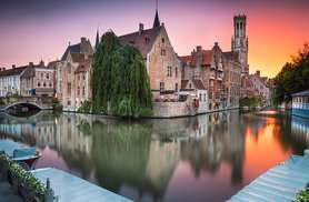 4 night Mini Cruise Hull to Bruges including 2 nights in a 4 star hotel - £149 Wowcher/P&O
