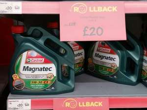 Castrol Magnatec 5W-30 C3 Fully Synthetic Engine Oil £20 @ Asda