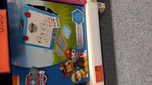 Paw Patrol Travel Art Easel - £2.99 @ B&M