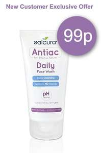 Salcura Antiac (Acne Reducing) Face Wash - 99p delivered (down from £9.99) - New Customer Offer