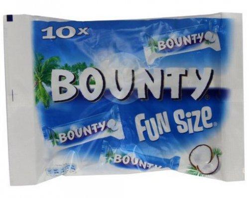 Mars Bounty Milk Chocolate Fun Size 303g bags (Pack of 10, Total 160 bars) Amazon Warehouse