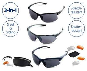 Sports and Cycling Glasses £3.99 @ Aldi