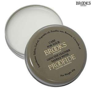 Brooks Proofide Leather Saddle Conditioner - 40g Tin - £5.99 + £1.50 P&P - £7.49 @ SJS Cyles