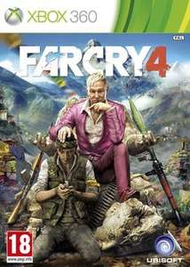 Far cry 4 for Xbox360 £19.99 @ Game