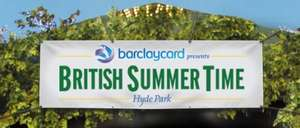 BST Hyde Park shows for a £2 (minimum) charity donation (+ £2.50 booking fee) £4.50