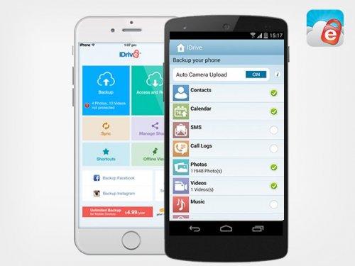 IDrive Unlimited Mobile Backup: Lifetime Subscription 79% Off $10 £6.62 @ Pocket-Lint
