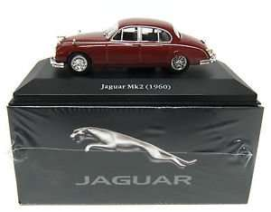 Jaguar Mk2 die-cast metal model & FREE Jaguar print @ Atlas edition only £1.99 delivered