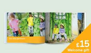 Free £15 Photobook for new customers at Albelli- you just pay £2.75 - £7.95 for P&P