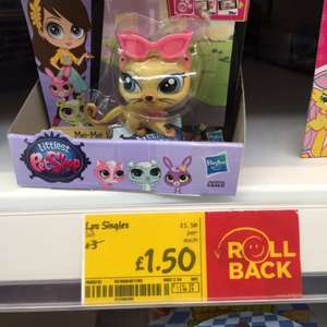 Littlest Pet Shop Singles £1.50 @ Asda instore
