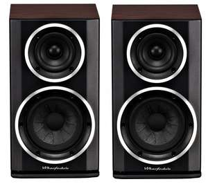 Wharfedale Diamond 122 Speakers (Pair) Walnut /Cherry / Rosewood £159.99 normally £279.95 @ Audio Affair