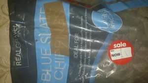 Blue slate chippings large bags for £1 SALE at Asda instore