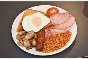 BIG Breakfast at Morrisons Cafe Half Price this Saturday  20th & Sunday 21st June  £2.24 (until 12pm each day)
