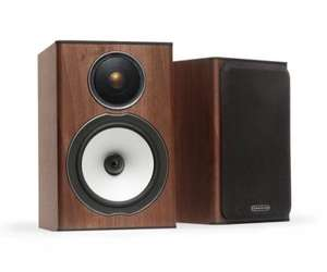 Monitor Audio Bronze BX1 (Walnut or Black) - £99.95 - Richer Sounds (6 Year Guarantee)