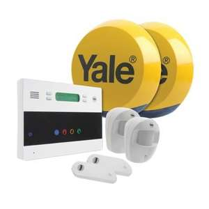 Yale Easy Fit Telecommunicating Alarm 868MHz with Touch control ONLY £139.44 (with code for existing customers) with Next Day Delivery @ Ironmongery Direct