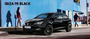 Seat Ibiza 1.2TSI 3 dr Black Special Edition £139pm no deposit on PCP inc deposit contribuion of over £5k!! @ planyourcar