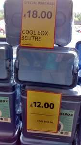 24 litre cool box £12 @ Tesco (Rugeley)
