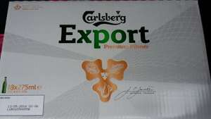 Carlsberg Export 18 Bottles for £8.99 at ALdi