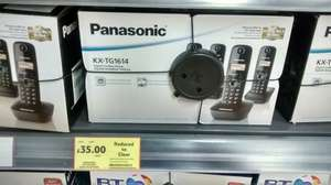 Trio Gigaset Phone £18 & Panasonic Quad £35 @ Tesco