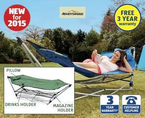 Portable Hammock with Stand £34.99 @ Aldi