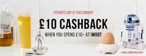 £10 Cashback @ Topcashback  on a £10 spend at I Want One Of Those