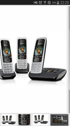 Gigaset C430A Trio DECT Cordless Phone £21.00 @ Tesco instore