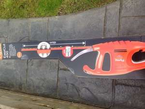 Flymo easicut 450 hedge trimmer £19 in Asda Boldon