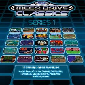 SEGA Megadrive Classic Packs (Steam) £1.37 each @ GetGames