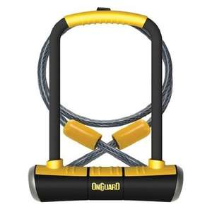 On-Guard Pitbull DT-8005 Keyed Shackle Lock, Gold Rated £20.29 - Amazon
