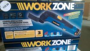MultiFunction tool. cordless Li-Ion £29.99 @ Aldi