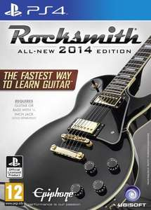Rocksmith PS4 (including RealTone Cable) - lowest ever price on Amazon £35.92