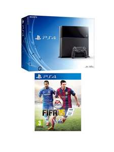 Playstation 4 Console with FIFA 15 and Optional Dual Shock 4 Controller, 90 Day or 12 Months PlayStation Plus £529.00 @ K and Co