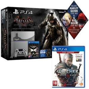 PlayStation 4 Limited Edition Batman Arkham Knight Console With Batman Arkham Knight AND The Witcher 3: Wild Hunt WAS £369.99, NOW £349.99 @ GAME
