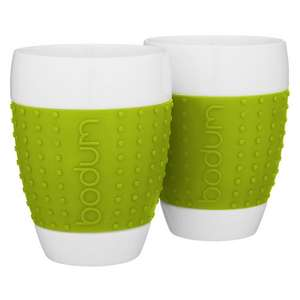 Bodum Pavina Mugs, Set of 2, 0.4L £5 @ John Lewis