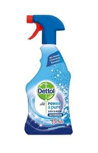 89p per bottle! Dettol Power and Pure Bathroom Spray 750 ml - Pack of 3 £2.67 @ Amazon delivered.