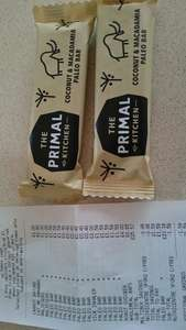 Primal Kitchen Coconut and Macadamia Paleo bar 80p for 3 @Tesco instore