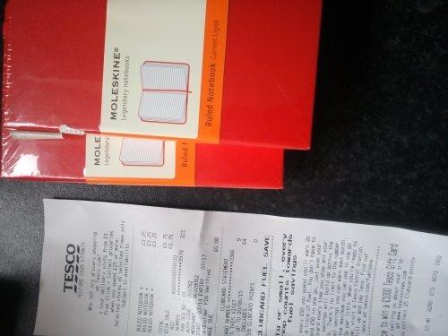 Moleskine Legendary Notebooks £3.25 Instore Tesco.