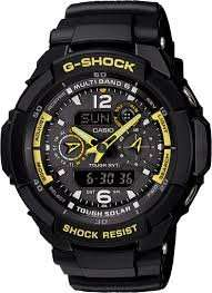 Casio G-Shock Aviator Radio Controlled Solar Powered Watch £125 (Qd 7%) @ H.SAMUEL