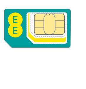 15GB 4G Data £15.00pm + £29 Amazon Voucher - 30 days rolling contract  @ EE