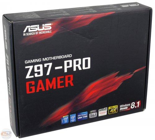 Asus Z97-PRO GAMER S1150 Intel Z97 DDR3 ATX & Free Asus Cerberus Headset £99.99 - Dabs