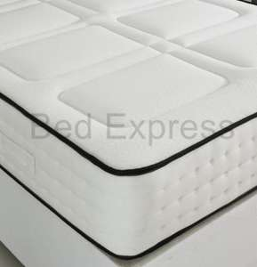 pocket spring mattress from £71.90 @ Ebay/bedexpress123