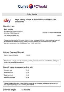 Sky+HD TV (Family Bundle), Broadband Unlimited, Talk Weekends & Line Rental - £16.40pm for 12 months @ Currys PC World (in-store)