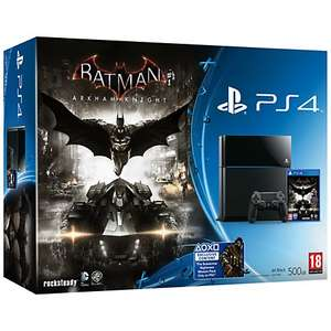 PS4 Playstation Console Bundle deal with Batman: Arkham Knight £299 at John Lewis 2 year warranty! Free Delivery