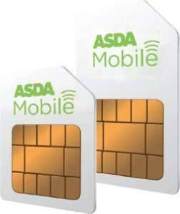 Order a Free ASDA Sim Card and Receive 5 Pounds Cashback!