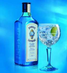 Bombay sapphire gin 70cl £18 & free balloon glass £17.00 at Asda